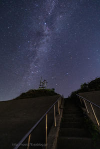 Stairs leading to the galaxy - デジタルで見ていた風景