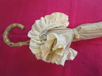 日傘を作ってみました。 - ピンクローズのキラキラ手芸DAYS