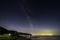 海に近い公園 - デジタルで見ていた風景