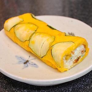 韓国で流行ってる(らしい?) ズッキーニの卵焼き - キムチ屋修行の道