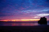 朝焼け - 雲空海