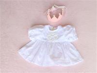 ベビーのセレモニードレス - シマリスママの布あそび