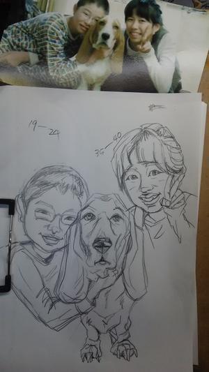 描くって素晴らしい - 札幌の似顔絵ふで師キムナミ