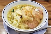 らーめん鱗 西中島店 塩 - 拉麺BLUES 主に関西のラーメン食べ歩き