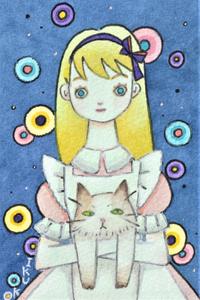 アリスと猫☆ピンクの服のアリス - ギャラリー I