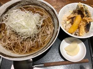 冷たい肉そばを一番町で - 仙台・幸町からふたたび写真日記