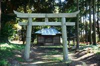 小さな鹿島神社の彼岸花 - ひな日記