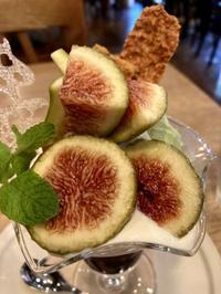 大好きなイチジクのパフェ:はけの森カフェ - おいしいもの大好き!