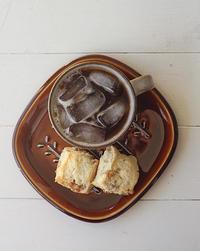 アイスコーヒーとスコーン - Nasukon Pantry