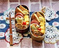 のっけ盛り弁当と庭から♪ - ☆Happy time☆