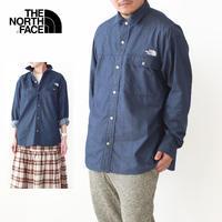 THE NORTH FACE [ザ ノースフェイス正規販売店] L/S Nylon Denim Nuptse Shirt [NR72130] - refalt blog