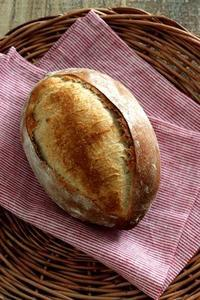 酒種でライ麦のふんわりカンパーニュ - Takacoco Kitchen