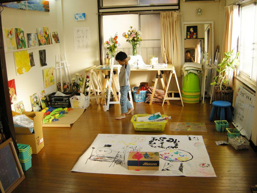 スタンピングによるエコバッグ! : 子どもクラス(絵画教室 ...