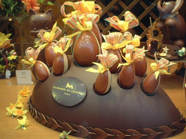 ■復活祭のショコラLa Maison du Chocolat_a0014299_11335.jpg