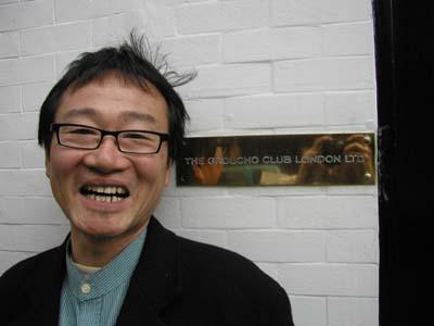 笑福亭鶴笑 in  London_a0012134_45114.jpg