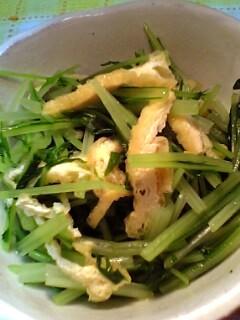 水菜の煮浸し_a0004863_222159.jpg