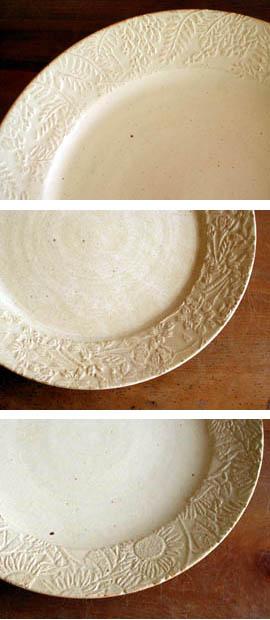 赤瀬さんのレリーフ皿。_a0026127_164431.jpg