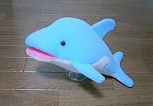 ミミコが作った「イルカ」