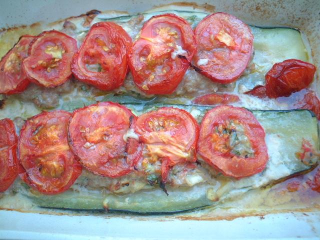 【料理】courgette farcie クルジェット・ファルシ_a0014299_1811162.jpg