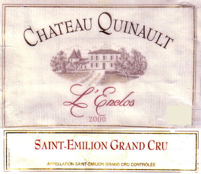 Chateau Quinault l'Encols