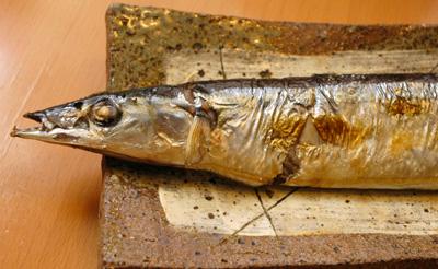 秋刀魚と松茸ご飯・さんまをやこう_a0003650_21282482.jpg