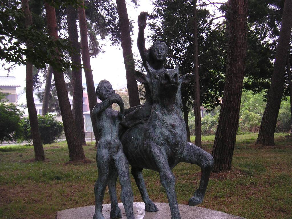彫刻 ユーロペ(EUROPE) 三坂耿...