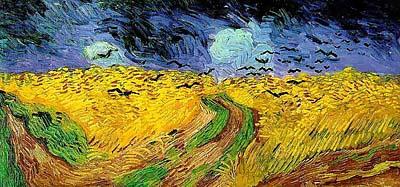 ★ゴッホがピストル自殺前に描いていた絵、黄色にこだわる訳_a0028694_9241017.jpg