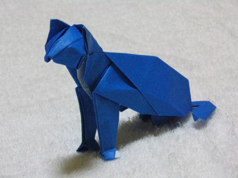 クリスマス 折り紙 折り紙 猫 折り方 : origami.exblog.jp