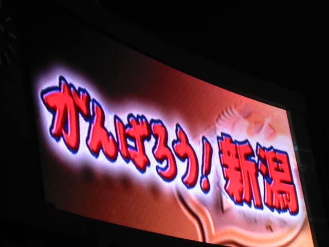 がんばろう!新潟 J1リーグ新潟VS柏戦観戦_b0042308_0171064.jpg