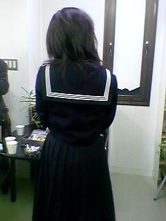 次元大介とスケバン刑事(SOHOクラブ4周年交流会にて)_a0033733_2316628.jpg