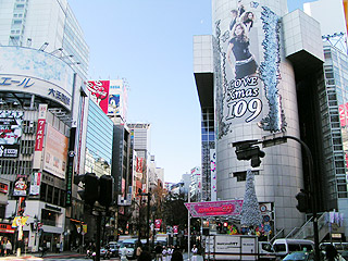 12月6日(月)今日の渋谷109前交差点_b0056983_10553142.jpg