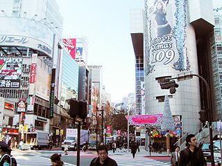 12月8日(水) 今日の渋谷109交差点_b0056983_11471036.jpg