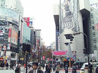 12月9日(木) 今日の渋谷109交差点_b0056983_10545810.jpg