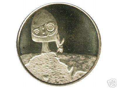 ロボット兵のコイン