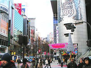 12月14日(火)今日の渋谷109前交差点_b0056983_13232179.jpg