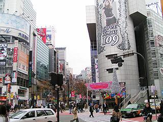 12月15日(水)今日の渋谷109前交差点_b0056983_12533644.jpg