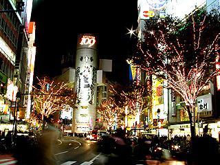 クリスマスイルミネーションだったら渋谷でしょ!_a0028451_12311053.jpg