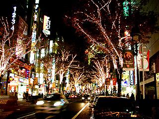 クリスマスイルミネーションだったら渋谷でしょ!_a0028451_12312779.jpg