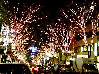 クリスマスイルミネーションだったら渋谷でしょ!_a0028451_12323084.jpg