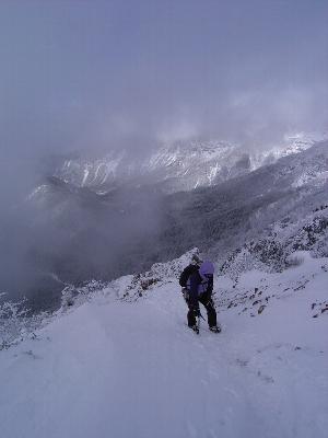 2日目 元旦は八ツ!赤岳登頂だよ。_a0016346_14153342.jpg