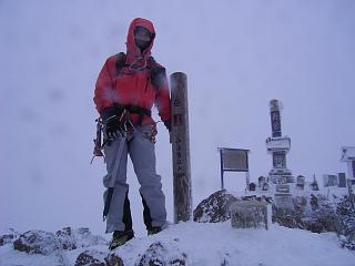 2日目 元旦は八ツ!赤岳登頂だよ。_a0016346_1421640.jpg