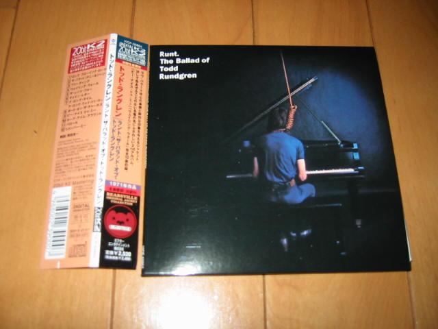 発掘その46 Runt.The Ballad of Todd Rundgren_b0042308_16284519.jpg