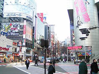 1月7日(金)今日の渋谷109前交差点_b0056983_1185451.jpg