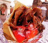 ボリューム満点!トルコ風焼肉サンドイッチ -YATAGAN_b0007805_6113294.jpg