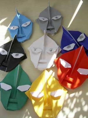 ハート 折り紙 ウルトラマン 折り紙 折り方 : hiatama.exblog.jp