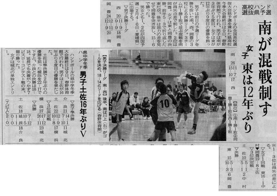 高校選抜県予選&中学冬季大会(20050109)_b0025069_21522757.jpg