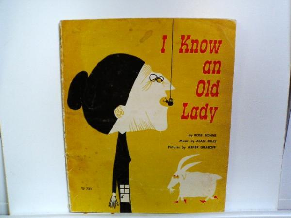 33冊目 「I Know An Old Lady 」・・・久々の洋書です。_b0053618_107646.jpg