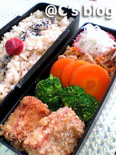 高野豆腐のカツ 1月17日のお弁当_a0004863_0265010.jpg