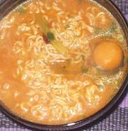 ■漢の手抜き料理(#゚Д゚)オラー!:辛味噌ラーメン_a0004802_20585223.jpg