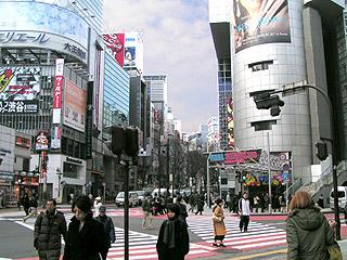 1月24日(月)今日の渋谷109前交差点_b0056983_11214078.jpg
